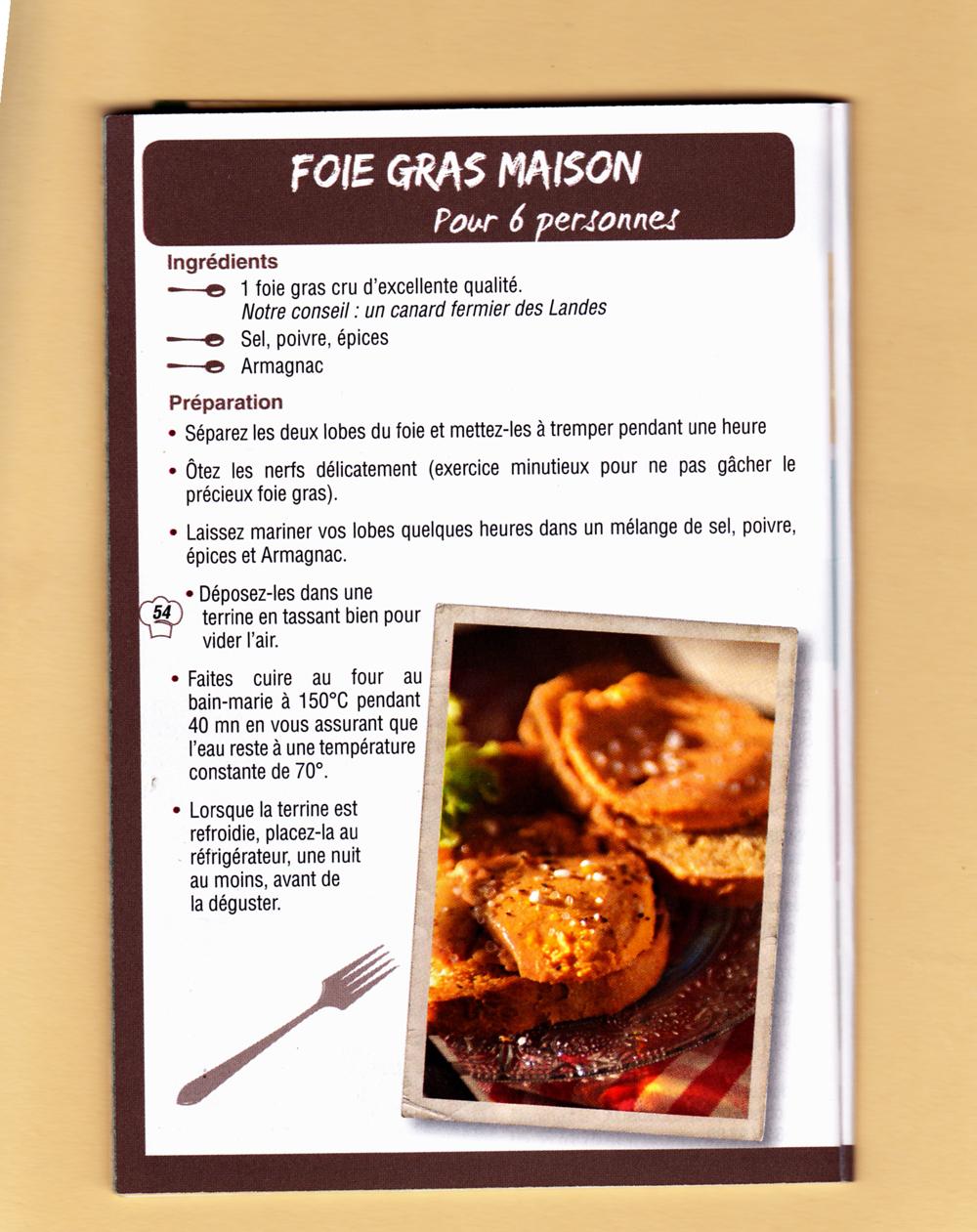 Les marchapattes association de marcheurs - Faire son foie gras maison ...